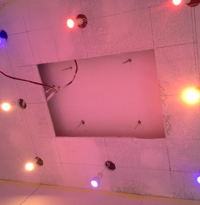 Philips HUE in shower - installation test