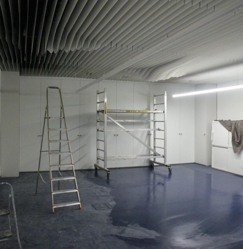 dokončovanie montážnych prác